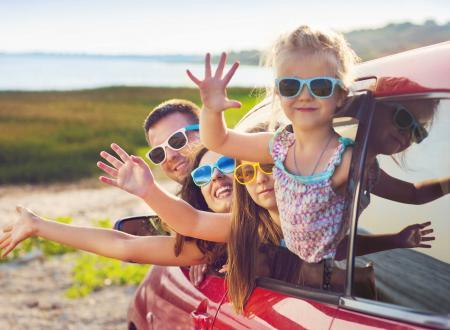 vacanze famiglia auto